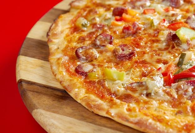 Pizzajacht en italiaanse keuken. studio