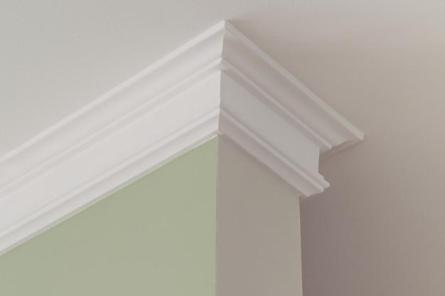 Plafondlijsten in het interieur