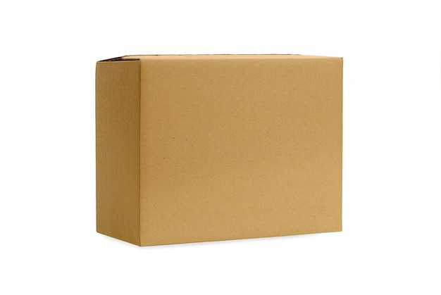 Plain kartonnen doos