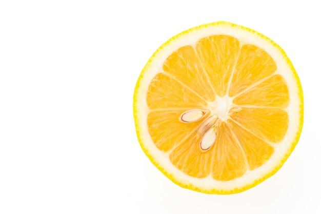 Plak van de citroen