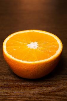 Plakje sinaasappel