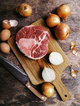 Plakje vlees