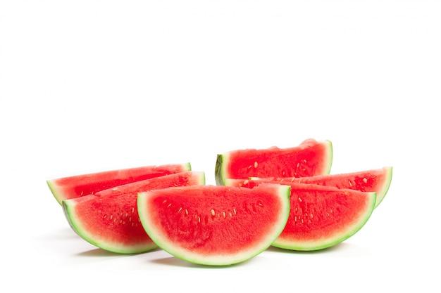Plakje watermeloen