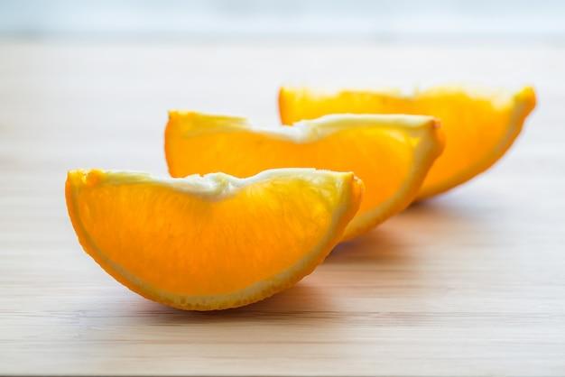 Plakjes sinaasappel