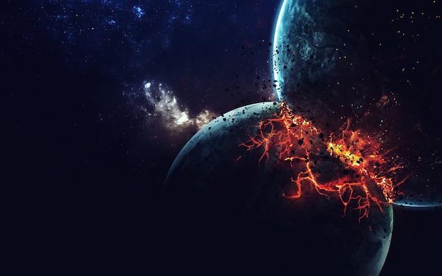 Planeet explosie