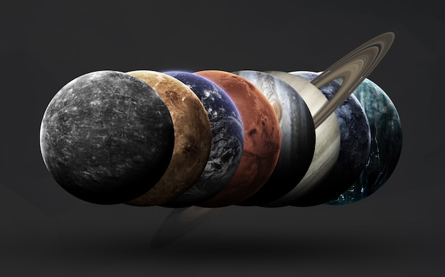 Planeten van het zonnestelsel