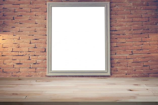 Plank met achtergrond