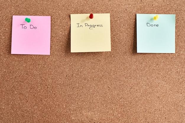 Planning en brainstormen concept