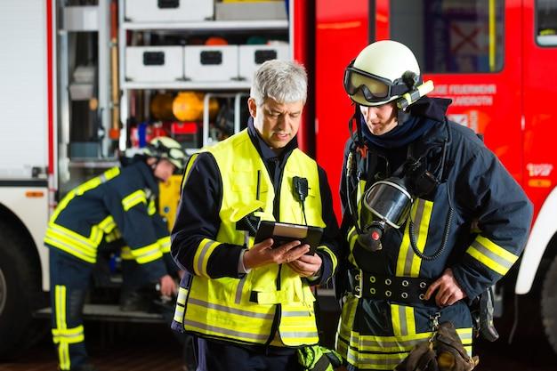 Planning van de inzet van de brandweer