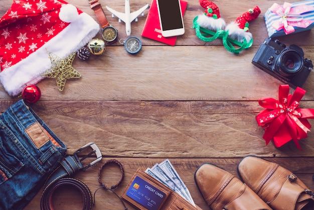 Planning voor reizen met kerstfestival