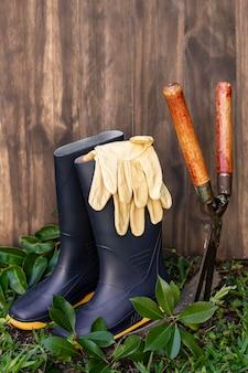 Planten tuingereedschap