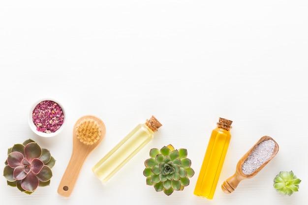 Planten, zeezout en handgemaakte cosmetica