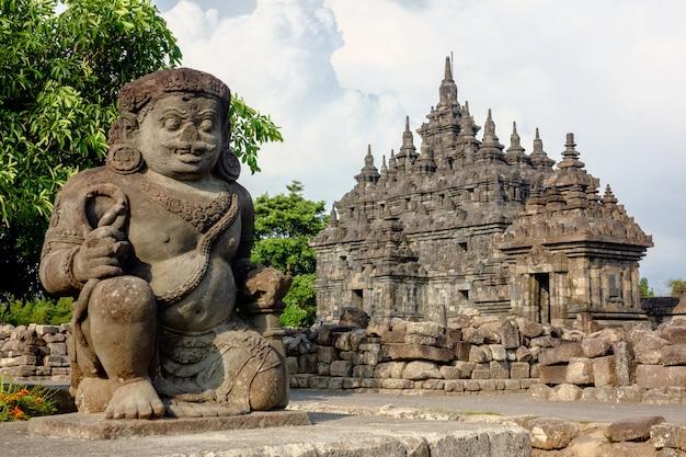 Plaosan temple, yogyakarta - indonesië