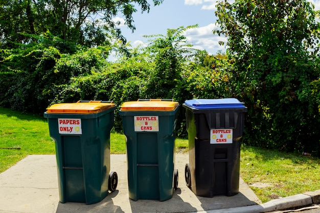 Plastic afval, dump