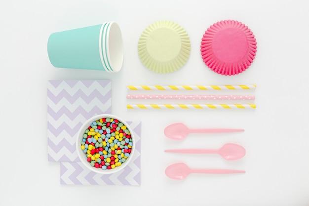 Plastic bestek voor feest