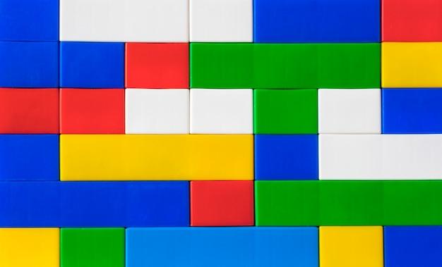 Plastic bouwpakket voor kinderen