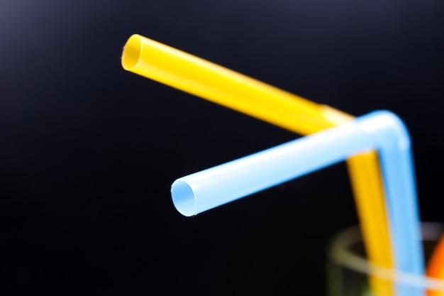 Plastic cocktailstro