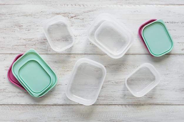 Plastic containers voor transport en opslag van voedingsproducten
