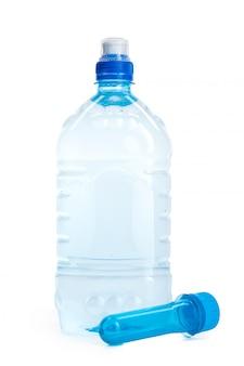 Plastic fles en geïsoleerde pet-voorvorm