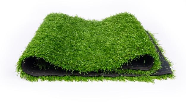 Plastic gras, kunstgras voor sportvelden.