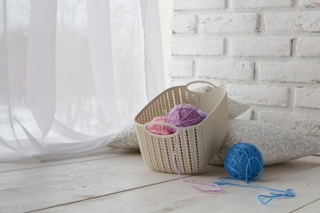 Plastic mand - thuisorganizers voor handgemaakte accessoires