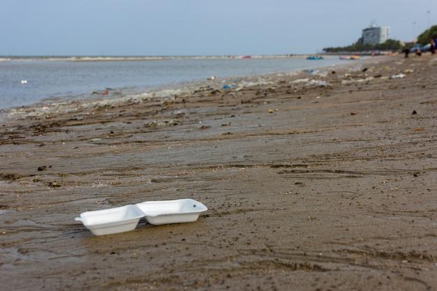 Plastic milieuprobleem in de oceaan
