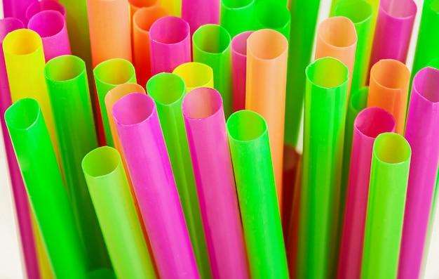 Plastic rietjes