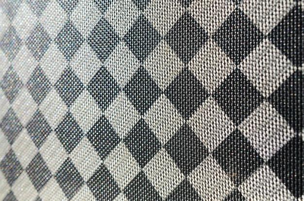 Plastic textuur in de vorm van een zeer kleine stoffen binding, geverfd