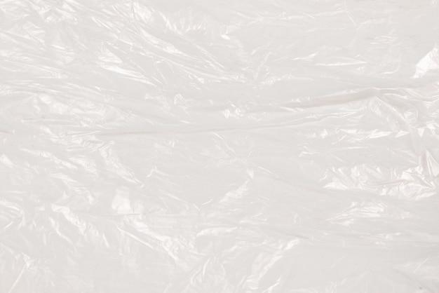 Plastic wihite achtergrond. bovenaanzicht. kopieer ruimte.