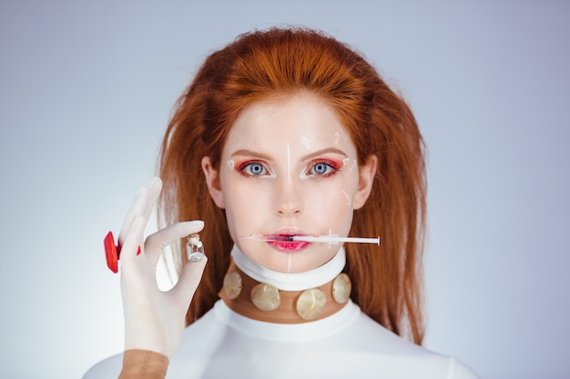 Plastische chirurgie concept