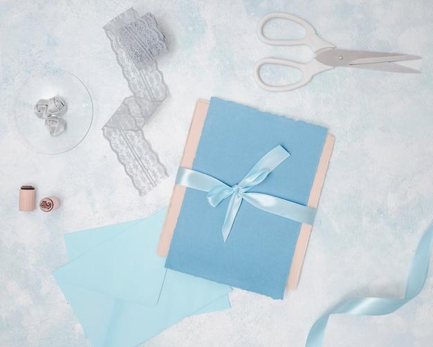 Plat lag bruiloft arrangement