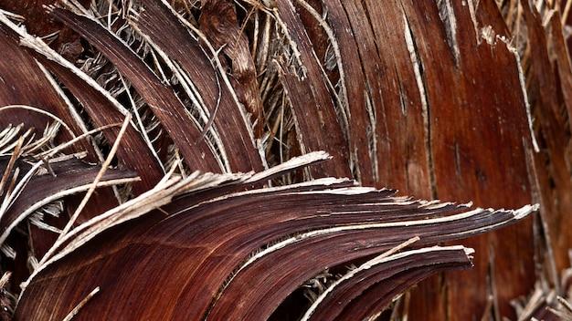 Plat lag houten compositie