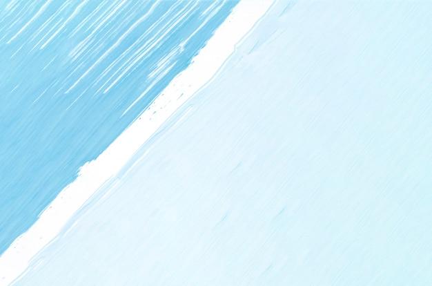 Plat lag lichtblauw schilderij