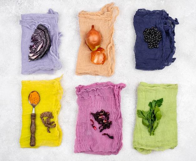 Plat lag organisch kleurstofpigment