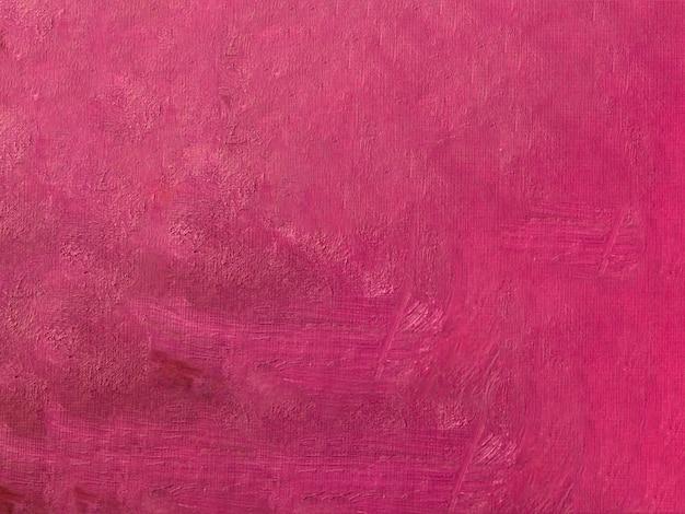 Plat lag roze acryl schilderij