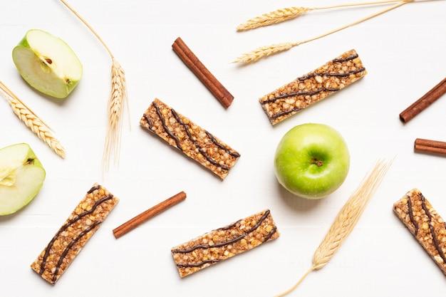 Plat lag snacks arrangement