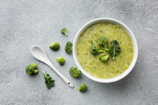 Plat leggen broccoli bisque regeling