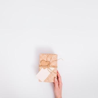 Plat leggen geschenkconcept
