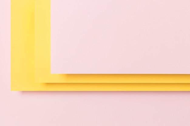 Plat leggen kast geometrische vorm concept