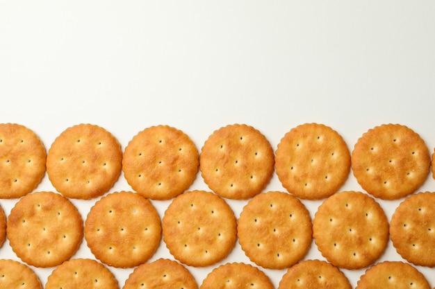 Plat leggen met cracker koekjes