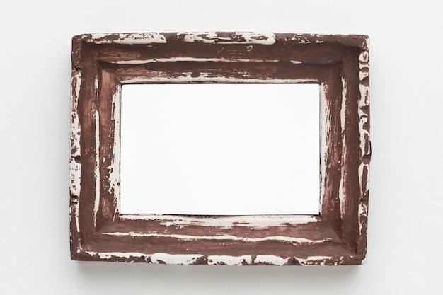 Plat leggen van frame concept met kopie ruimte