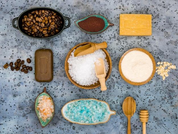 Plat leggen van natuurlijke medicijnen