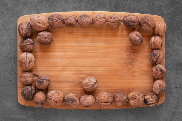 Plat leggen van noten regeling concept