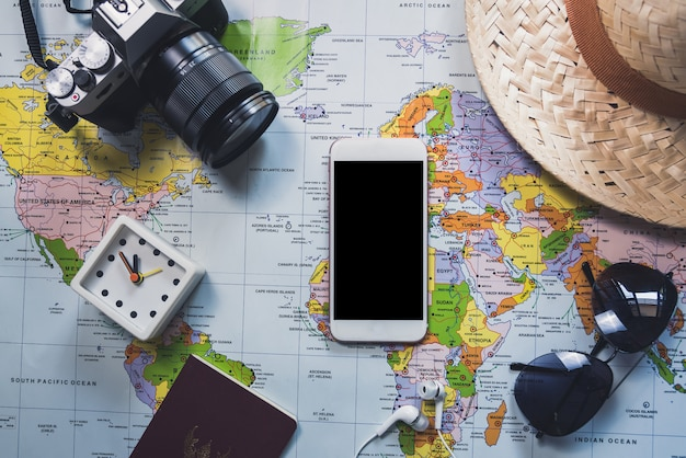 Plat leggen van reizen