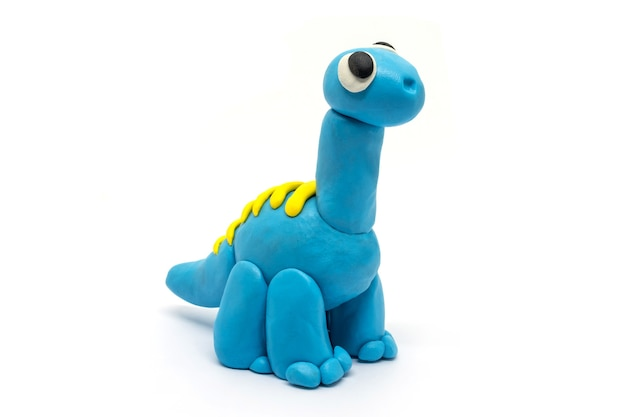 Playdough brachiosaurus