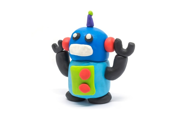 Playdough-robot