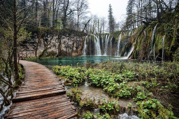 Plitvice lakes national park, kroatië