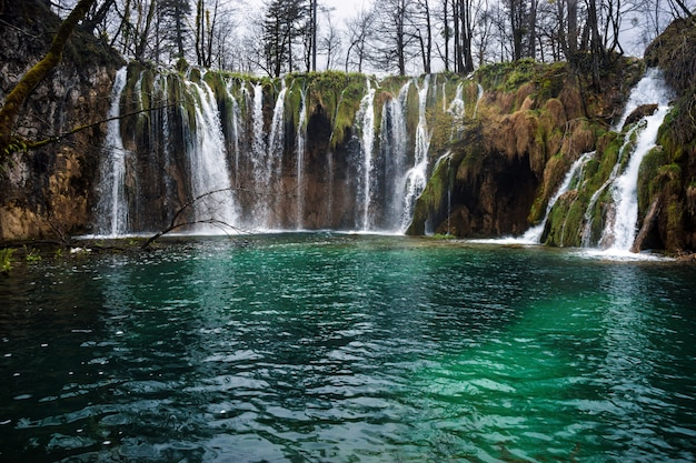 Plitvice lakes national park, kroatië