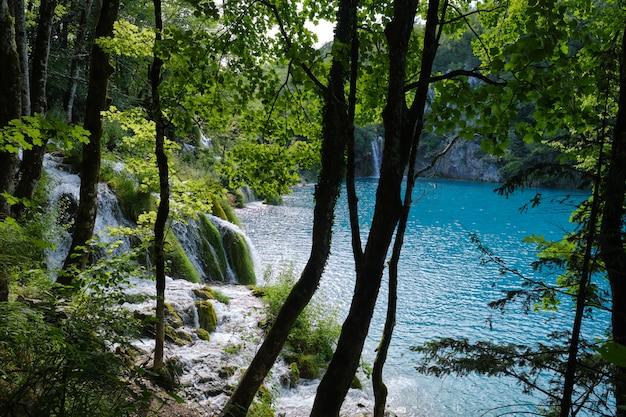Plitvice natuurpark, kroatië