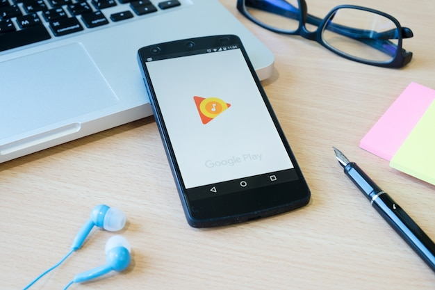 Pluggen achtergrond telefoon markt nieuwe google